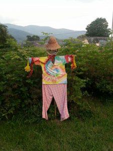 Swannanoa Community Garden Scarecrow