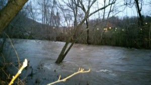Swannanoa River After Rains